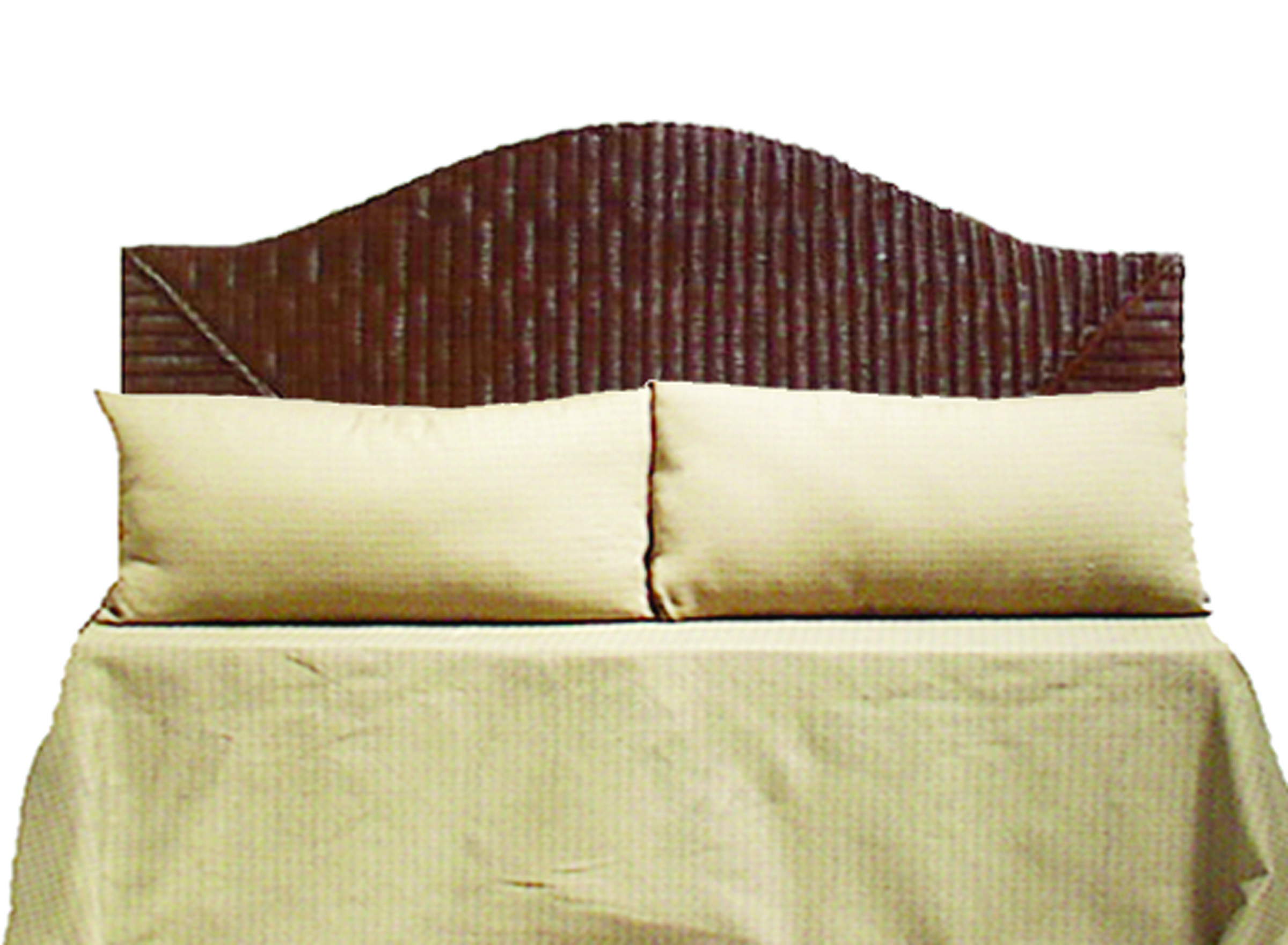 FB-3547-KG Wicker Headboard