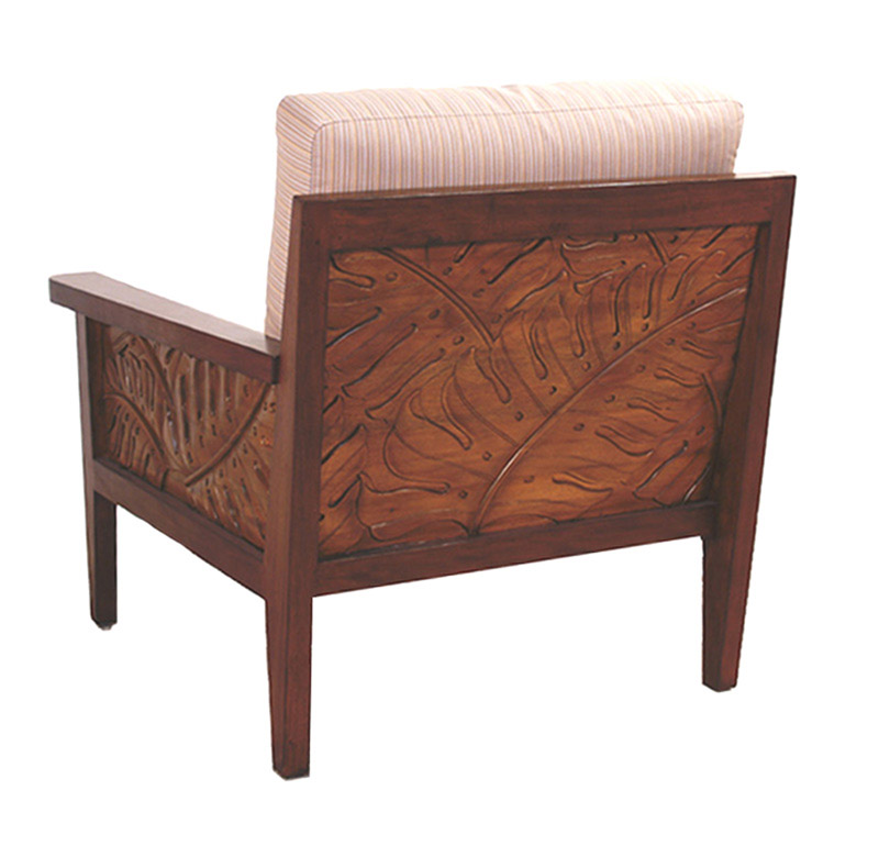 FB-4687-A  WOOD LOUNGE CHR-BK-cln